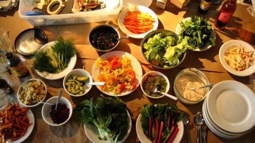 Spring Roll fixins!